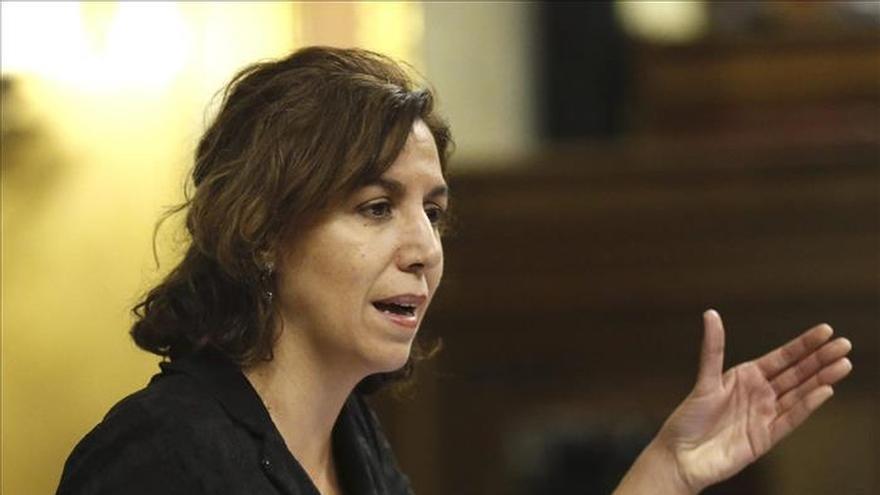 Irene Lozano dejará sin reproches UPyD y la política al término de la legislatura