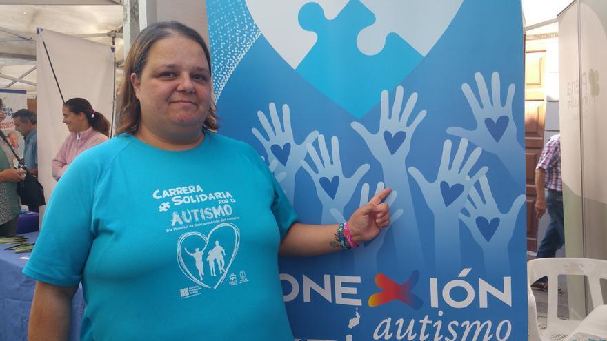 Rocío Cabrera González es madre de un niño con autismo. Foto: LUZ RODRÍGUEZ.