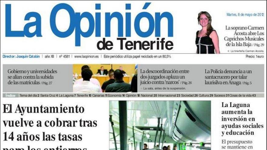 De las portadas del día (08/05/2012) #5