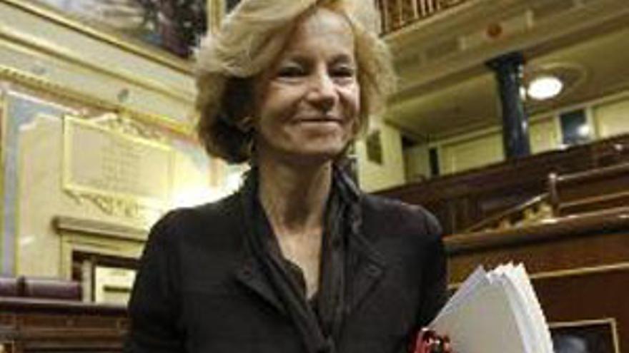 Elena Salgado, ministra de Economía y Hacienda. (EP)