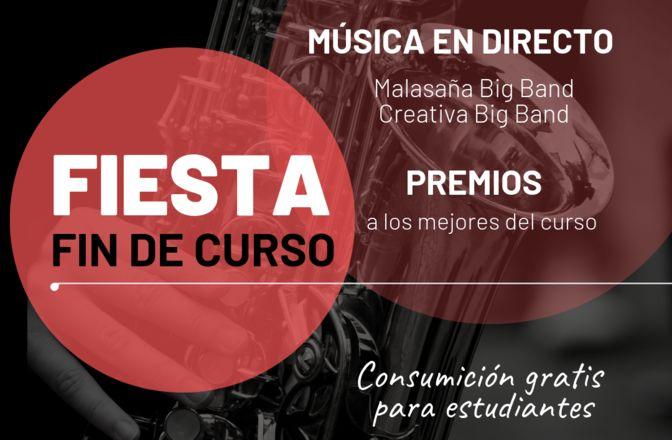 Noche de big bands para celebrar el fin de curso de la Escuela de Música Creativa