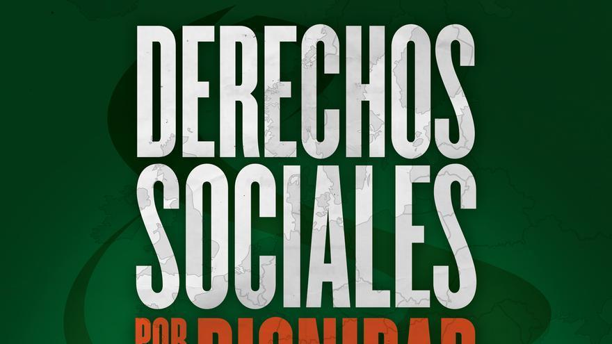 """Cartel del documental """"Derechos Sociales por la Dignidad"""""""