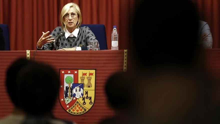 """Rosa Díez denuncia un """"fraude electoral"""" por el """"apagón informativo"""" a UPyD"""