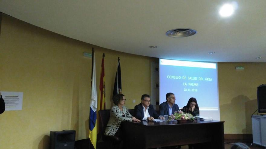 El Consejo de Salud de la Isla se ha reunido este lunes en el Salón de Actos del Hospital General de La Palma.
