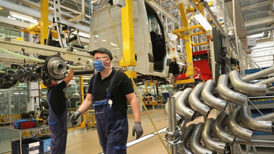 La población empleada en Alemania cae un 1,1 % interanual en mayo.