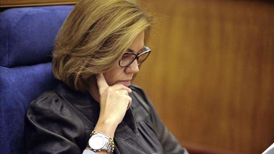 Cospedal declara unos ingresos de 64.463 euros de la Junta y las Cortes