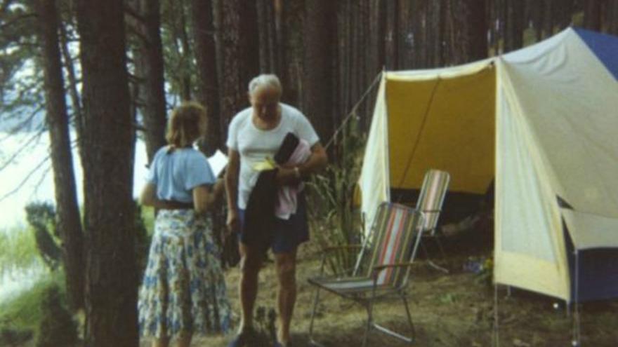 Karol Wojtyla y Anna Tymieniecka
