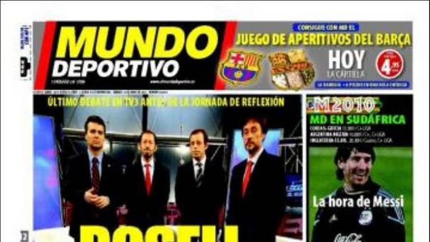 De las portadas del día (12/06/2010) #15