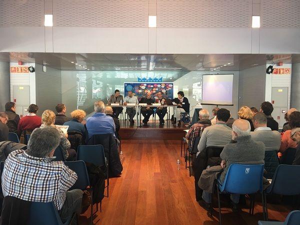 Intervención de Nacho Murgui en el III Encuentro Europeo de Asociaciones de Vecinos de Centros Históricos | Fotografía: Ayuntamiento de Madrid