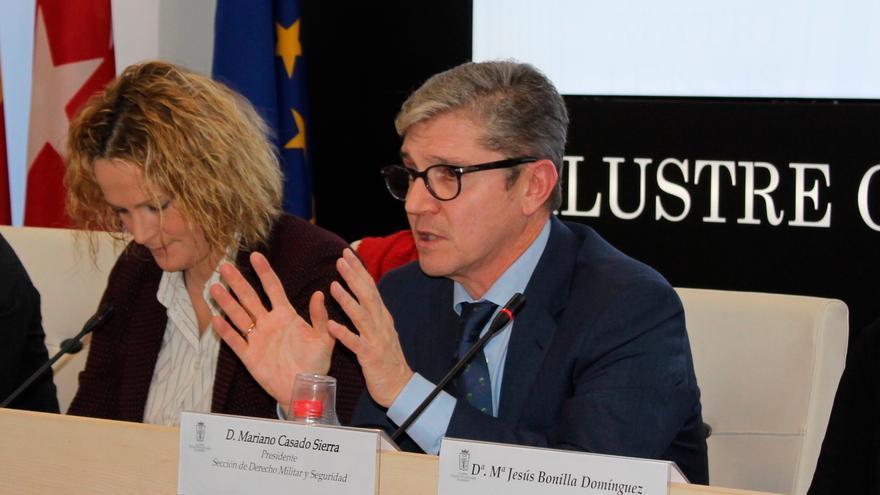 Mariano Casado durante un evento en el Colegio de Abogados de Madrid