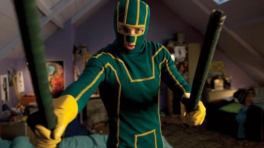 Adaptación cinematográfica de 'Kick-Ass', cómic del mismo nombre creado por Mark Millar y John Romita Jr.