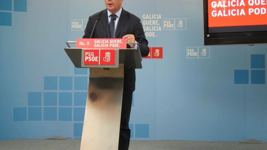 """Pachi Vázquez advierte a Feijóo de que la Junta Electoral """"lo pilló acoplándose"""" en el acto de Pemex"""