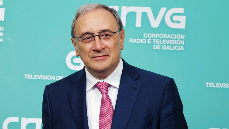 Alfonso Sánchez Izquierdo, responsable de la Televisión de Galicia