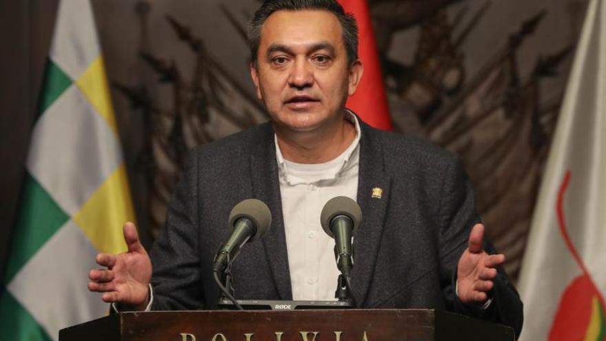 El ministro interino de la Presidencia, Yerko Núñez.