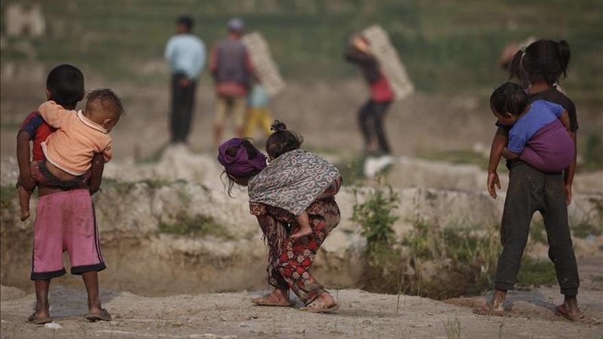 Unicef estima que 70.000 niños necesitan apoyo nutricional urgente en Nepal