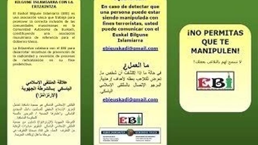 La Ertzaintza ofrece información en las mezquitas de Euskadi para prevenir la radicalización yihadista