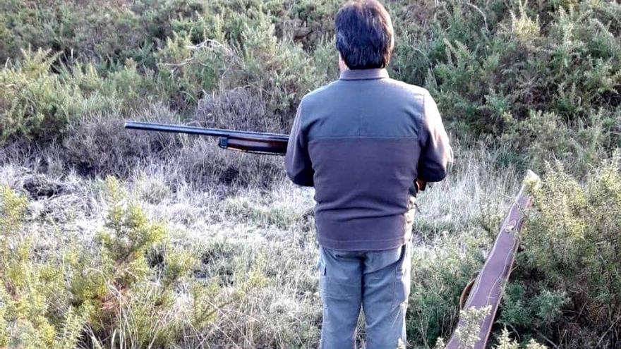 Un cazador en Castilla y León