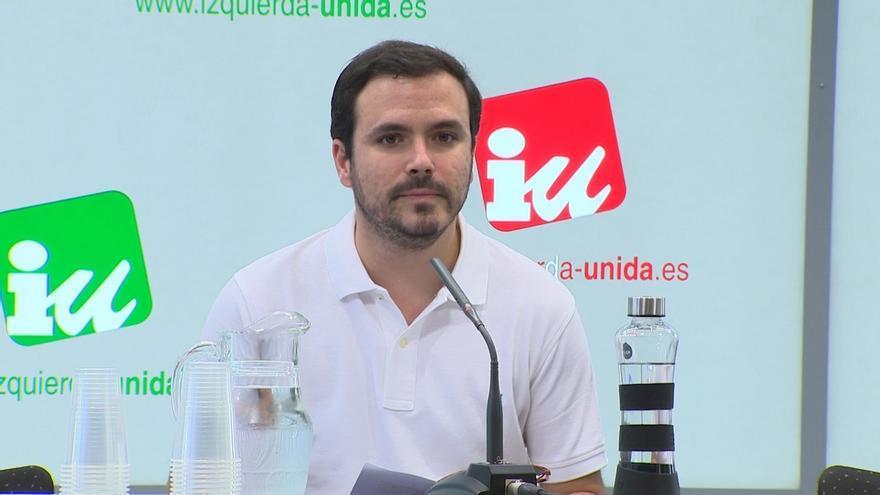La Coordinadora Federal de IU aprueba que los militantes decidan en referéndum su posición en la investidura de Sánchez