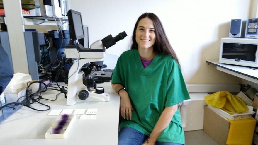 Elena Carretón, veterinaria.