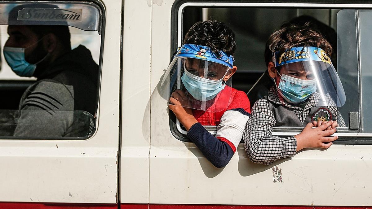 Palestina denuncia que Israel bloqueó la entrada de vacunas a Gaza.