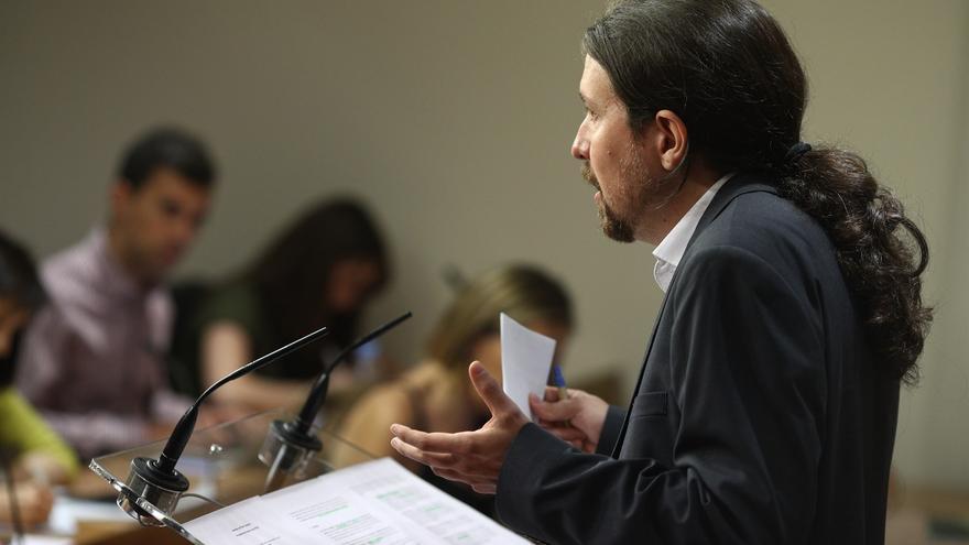 Pablo Iglesias. (EUROPA PRESS)