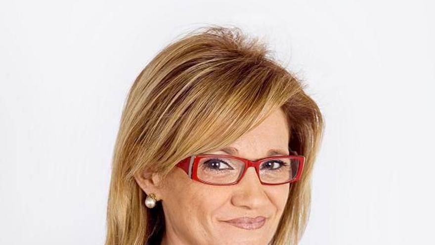 Milágros Bácerna, candidata a la Alcaldía de Santa Cruz de Bezana por ADVI.