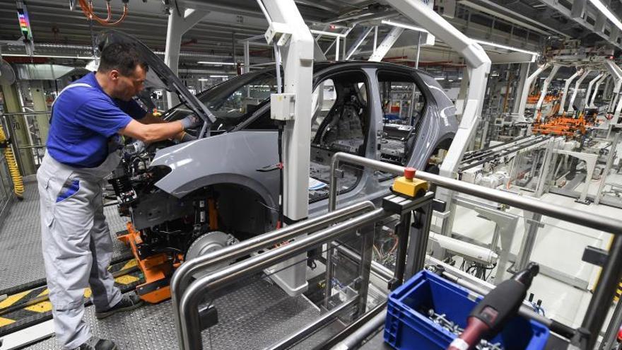 La industria automovilística alemana atraviesa una situación difícil