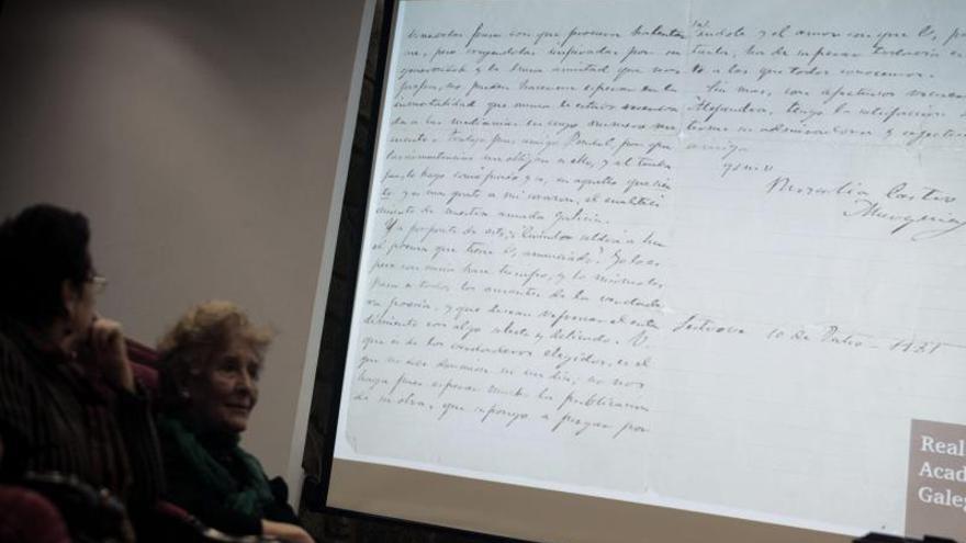 Cuatro inéditos arrojan luz sobre la obra de la poetisa Rosalía de Castro
