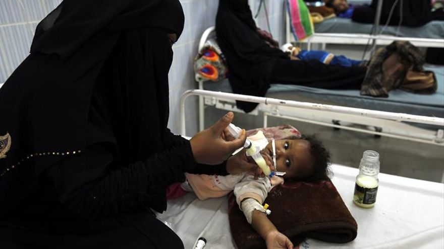 Al menos de 7,6 millones de yemeníes sufren de malnutrición, según la ONU