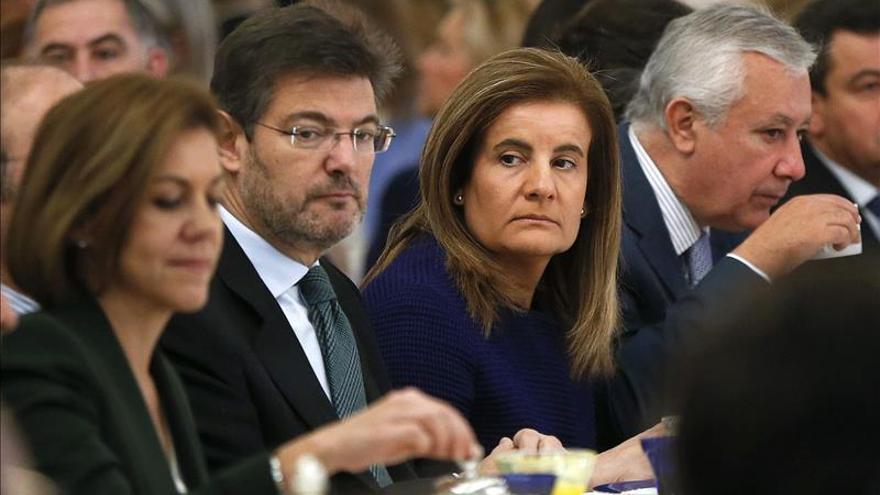 """Rafael Catalá señala que las imputaciones de Bankia """"demuestran que leyes son iguales para todos"""""""