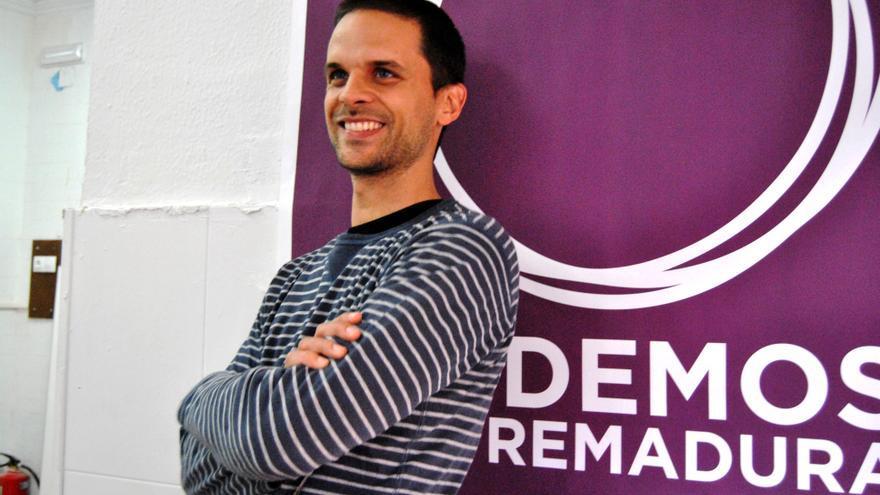 Álvaro Jaén, candidato a la Junta de Extremadura por Podemos / JCD
