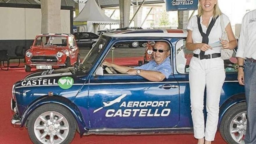 Carlos Fabra y Esther Pallardó en un acto patrocinado por el Aeropuerto de Castellón.