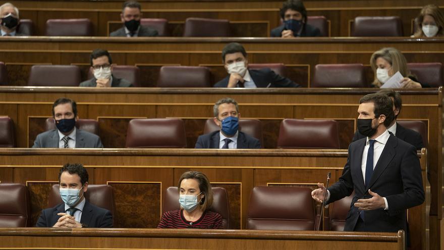 Bancada del Partido Popular en el Congreso de los Diputados.