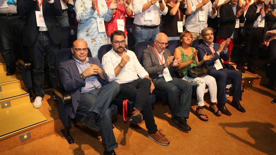 Asier Antona, José Miguel Barragán, Antonio Morales, Dunia González y Román Rodríguez.