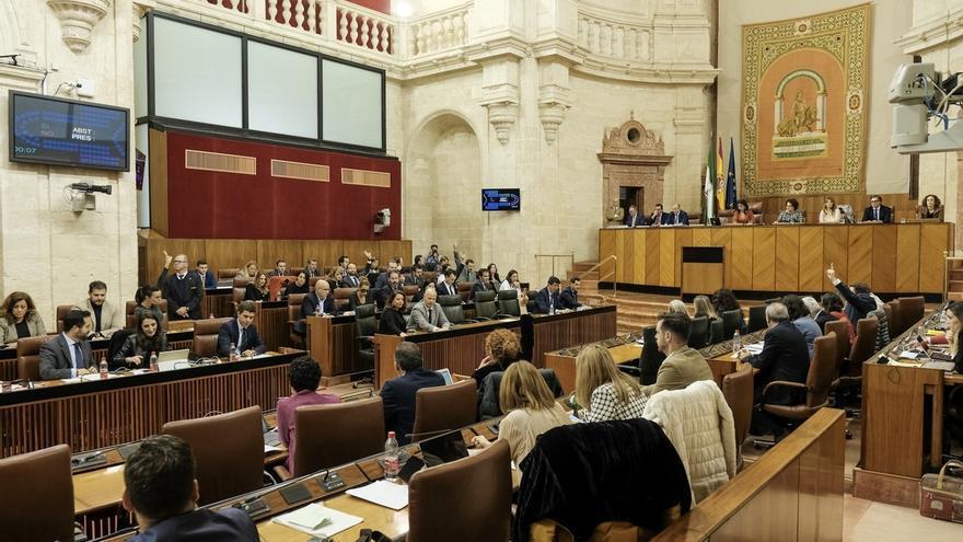 El Parlamento rechaza la propuesta del PSOE-A de garantizar la gestión pública de Veiasa