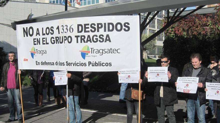 Tragsatec ejecutará 610 despidos incluidos en el ERE antes de que finalice enero, según CC.OO.