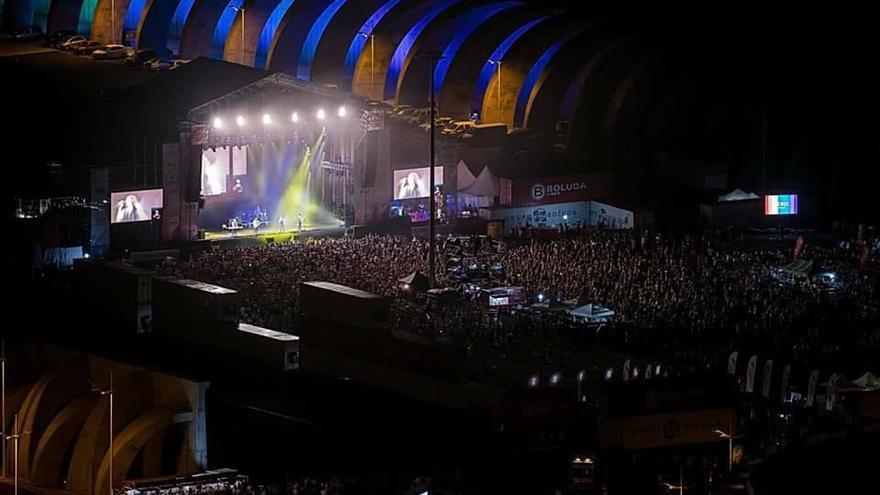 Imagen de archivo del concierto del Love Festival 2017.