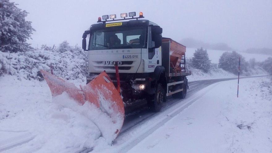 Protección Civil avisa por nevadas a la mitad norte peninsular