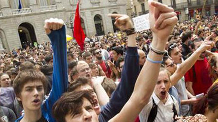 Manifestación Barcelona.