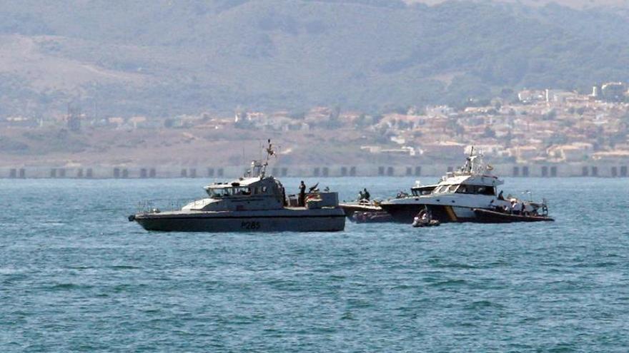 Un español muere durante una persecución policial junto a Gibraltar