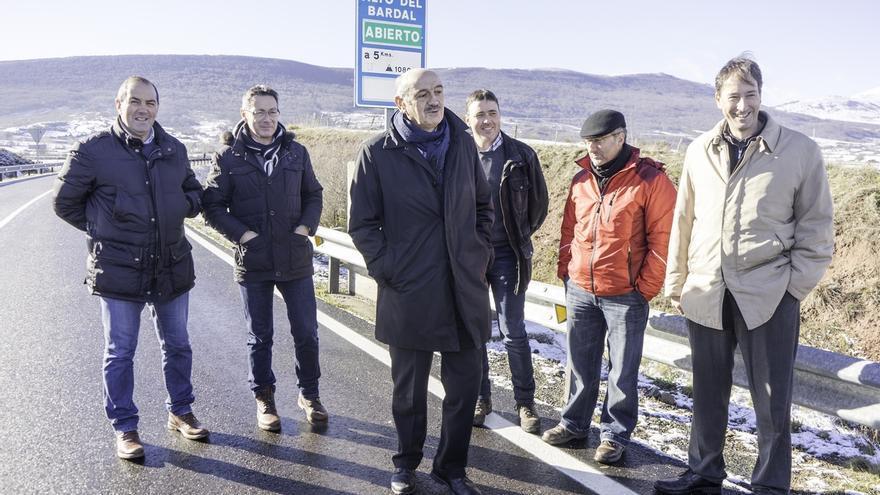 Inaugurada la mejora de la carretera Matamorosa-Mataporquera tras una inversión de 700.000 euros