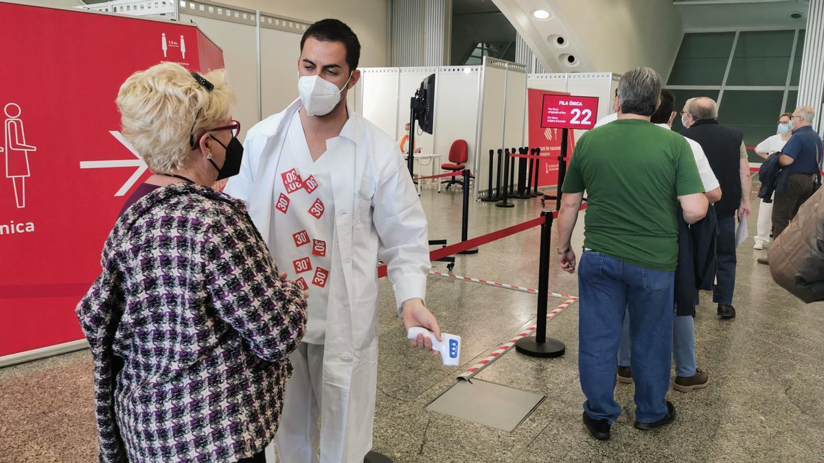 La Ciudad de las Artes y las Ciencias de València acoge el proceso de vacunación contra la COVID-19.