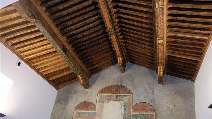 La mezquita de Tórtoles, que se usaba como pajar, recupera su esplendor