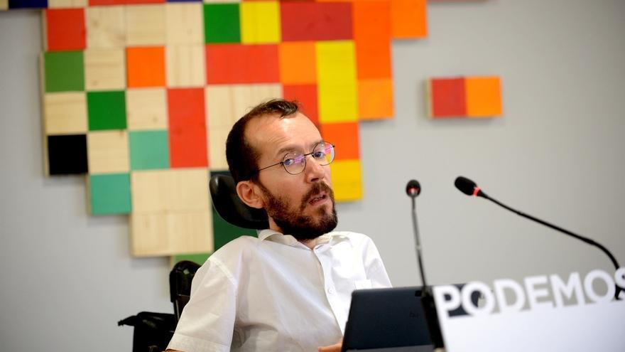 """La dirección estatal de Podemos celebra el 'Sí' de las bases a """"ensayar"""" un Gobierno con el PSOE en Castilla-La Mancha"""