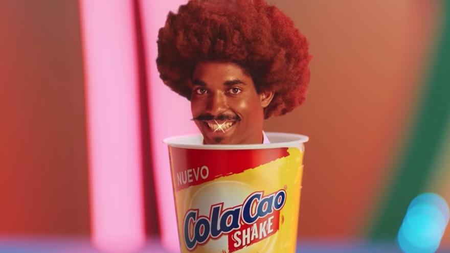 Anuncio de Cola Cao Shake.