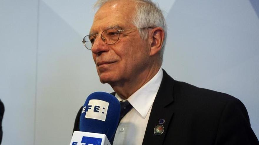 Borrell pide amainar tensiones en el mar de Azov y respeto del Derecho Internacional