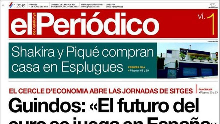 De las portadas del día (01/06/2012) #14
