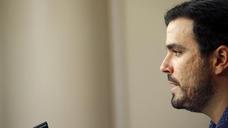 Garzón ve injustas las criticas de Iglesias a C.Lara por censurar a Espinar