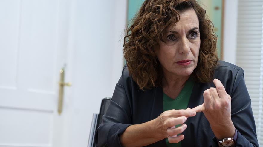 Ana Belén Álvarez, consejera de Empleo y Políticas Sociales de Cantabria. | JOAQUÍN GÓMEZ SASTRE