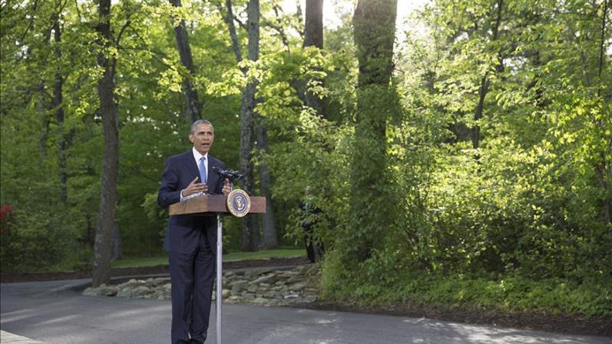 """Obama reitera que la solución de dos Estados es """"vital"""" para la seguridad de Israel"""